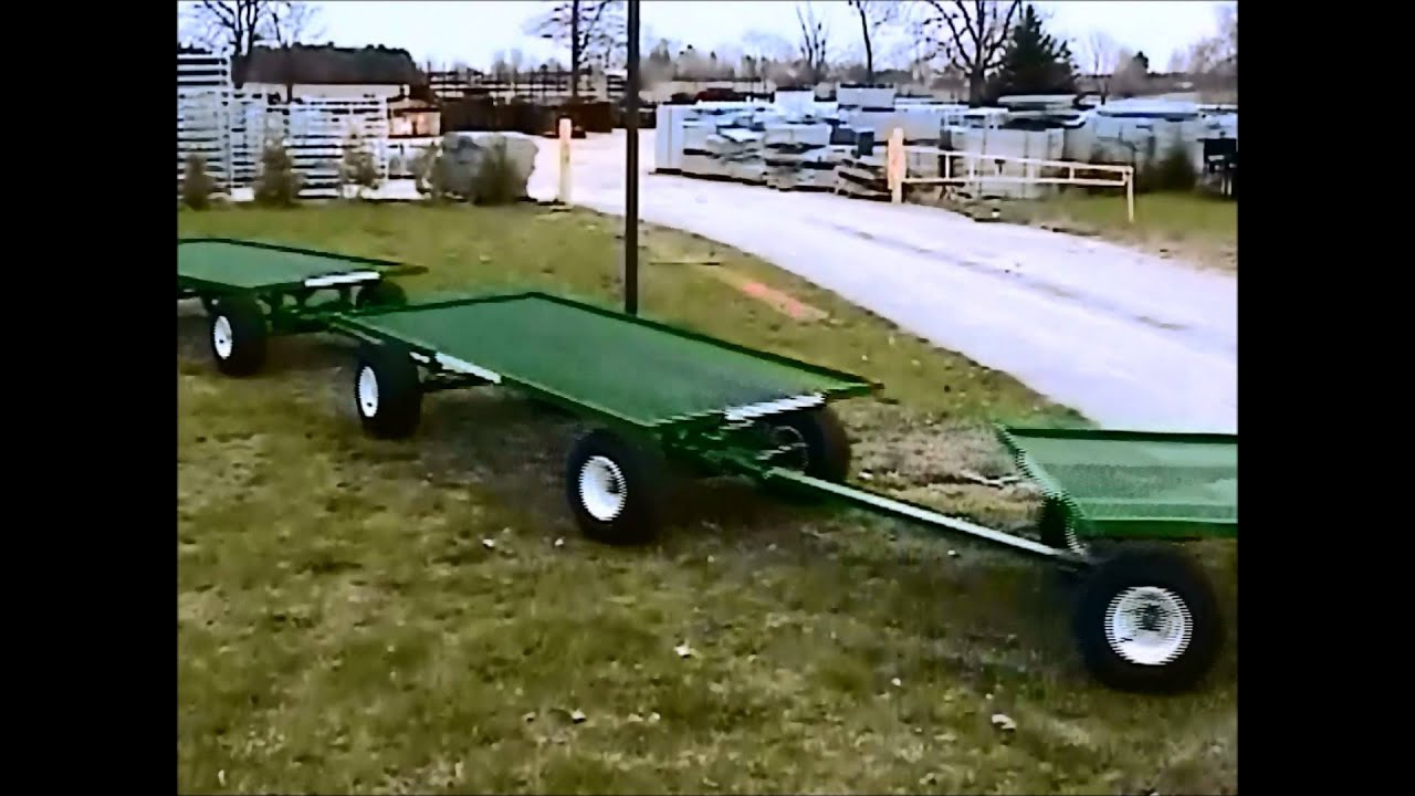 Wellmaster S 4 X 8 Wheel Steering Nursery Wagon You Tracking Trailers