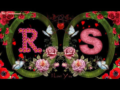 R & S Letter Romantis Whatsaap Status | Love Status Video for Whatsaap |30s