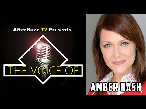 Amber Nash Interview | AfterBuzz TV's The Voice Of