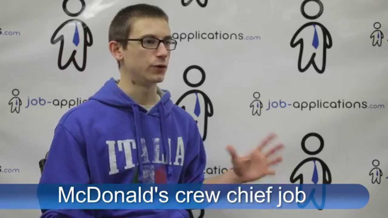 Mcdonalds Interview Questions And How To Get A Job Tips