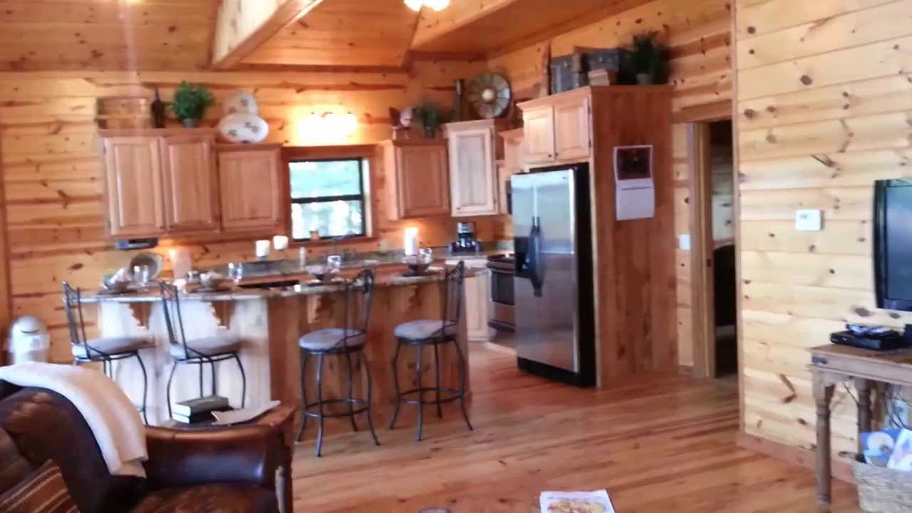 Rivers Edge Cottages   Pine Summit Front And Downstairs