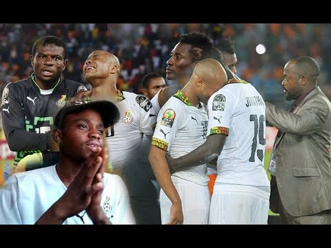 WATCHING HIGHLIGHTS OF GHANA BLACK STARS AT AFCON 2015