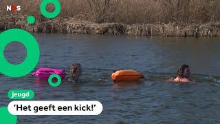 Zwemmen in ijskoud water steeds populairder