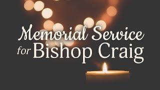 Celebration of Life Service for Bishop Judith Craig