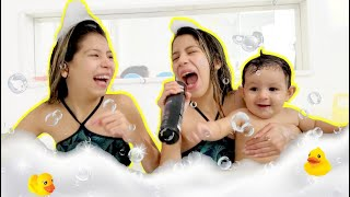 HORA DO  BANHO - VÍDEO MUSICAL Shower song for babies and kids