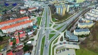 Lublin z lotu ptaka - okolice ul. Nadbystrzyckiej