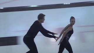 Александра Бойкова и Дмитрий Козловский Мастер класс в Игоре 21 07 2021