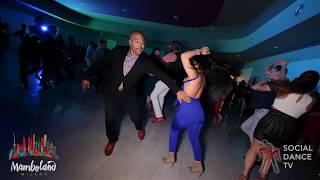 Tomas Guerrero & Nancy - salsa social dancing | Mamboland Milano 2018