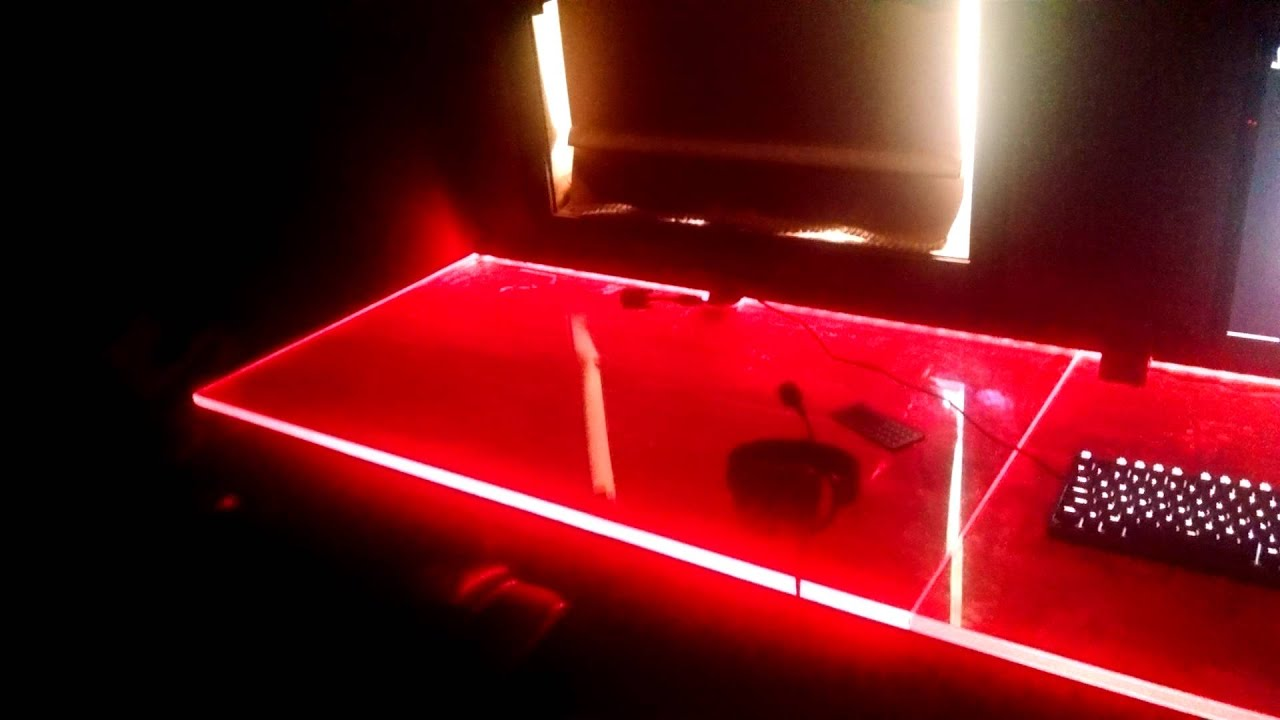 Led Rgb Desk Best Upgrade Ever Youtube