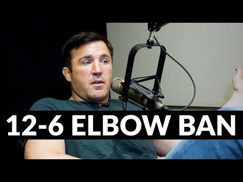 Chael Sonnen says Daniel Cormier is correct, 12-6 elbows SHOULD be illegal....