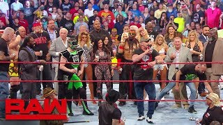 """Download """"Stone Cold"""", Hulk Hogan and Ric Flair lead A Toast to Monday Night Raw: Raw Reunion, July 22, 2019 Mp3 and Videos"""