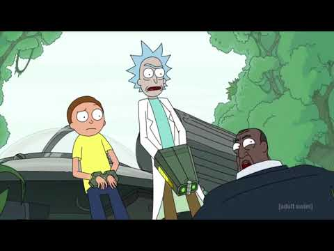 Rick is scared of Pirates - Rick and morty