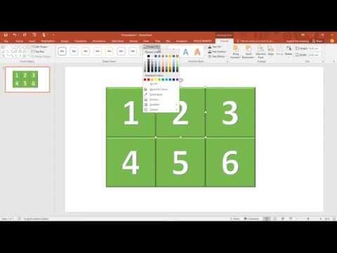 สาธิตการสร้างเกมเปิดป้ายจับคู่ด้วย PowerPoint ใช้เทคนิคทริกเกอร์ (Trigger)
