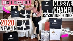 MASSIVE UNBOXING   PRE-ORDERED CHANEL ARRIVED & more with PRICES   2020 CRUISE   CHARIS ❤️