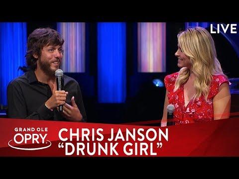 "Chris Janson Premieres ""Drunk Girl"" Music Video"