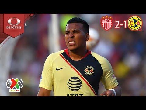 Resumen Necaxa 2 - 1 América | Apertura 18 - Jornada 1 | Televisa Deportes