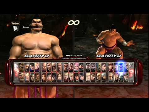 Tekken 6: Choose Your Character.