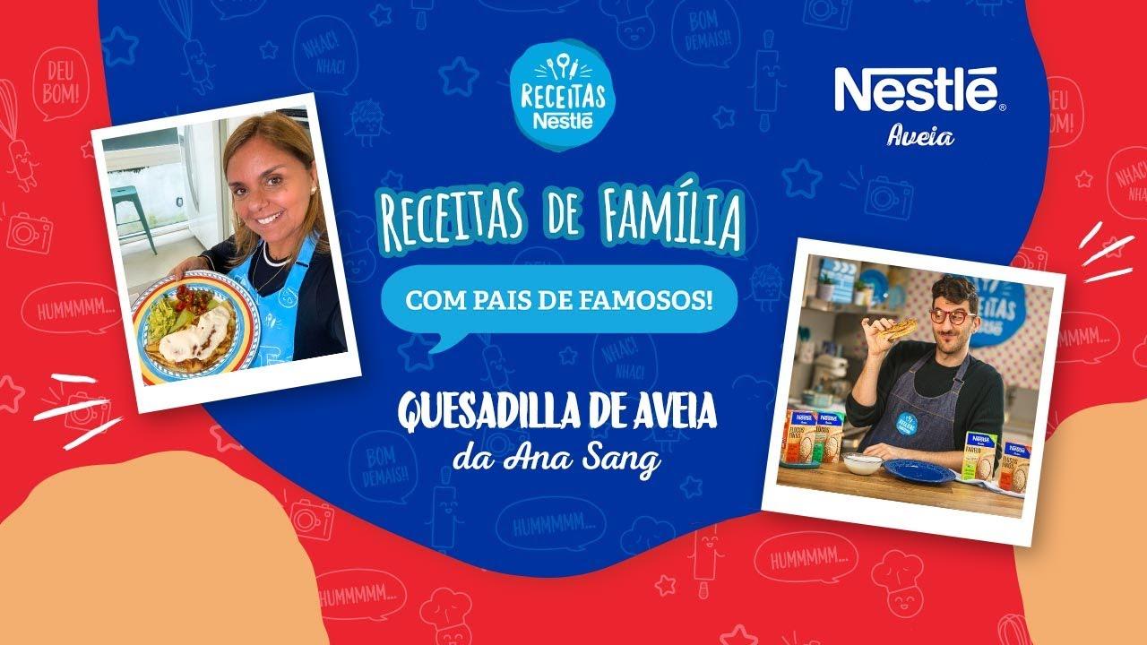 Quesadilla da Ana Sang - Receitas Nestlé
