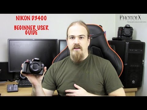 Nikon D3400 user guide