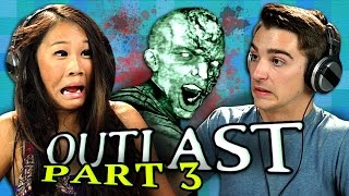 OUTLAST: PART 3 (Teens React: Gaming)