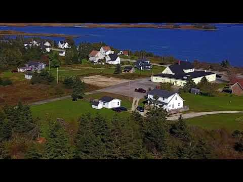 Pubnico village, Nova Scotia 2017 DJI Quadcopter