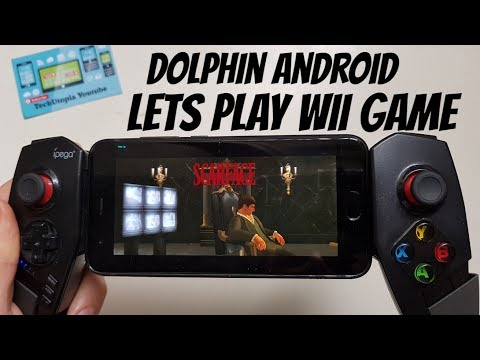 Scarface Game On Android Smartphone Wii Emulator Dolphin/The World Is Yours
