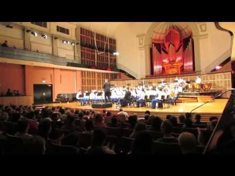 Castlehill RSL Youth Wind Orchestra YWO 2015TV - Music  Conservatorium