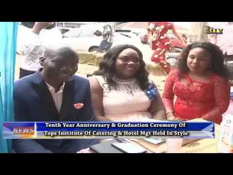 Tops of Institute of Catering graduates 40 students, marks 10 years