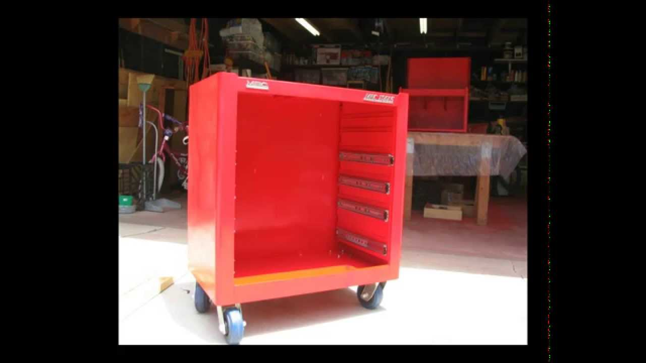 Snap On and Mac Tool Cabinet Restoration  YouTube