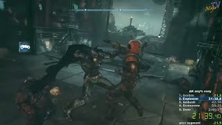 Batman: Arkham Knight speedrun easy any% in 2:36:57 (WR)