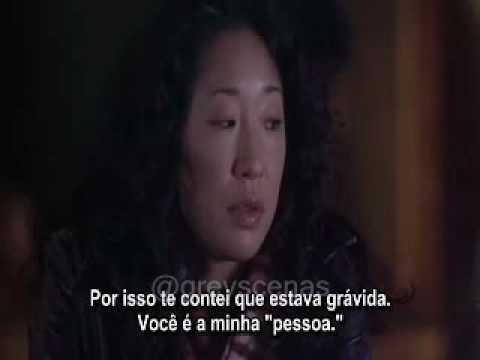 Cristina E Meredith Voce é A Minha Pessoa Greys Anatomy Youtube