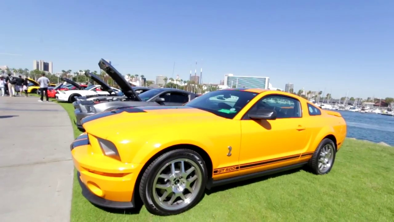 Ponies At The Pike Southern California Car Show YouTube - California car shows