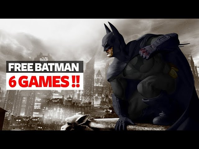 Get Batman Arkham Collection Free For Lifetime - Get These 6 Batman Games are free right now!!
