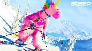 Best Sport Game Ever (Steep Funny Moments)