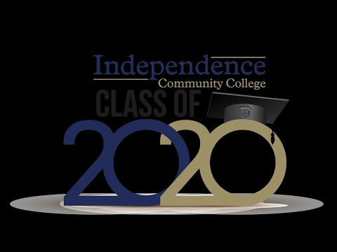 Independence Community College Fall 2020 Commencement