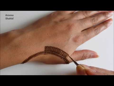 Image result for My Simple Eid Henna design | Henna Art by Aroosa