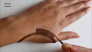 My Simple Eid Henna design | Henna Art by Aroosa