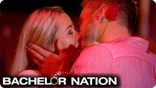 Heather Has Her FIRST EVER KISS! 😘 | The Bachelor US