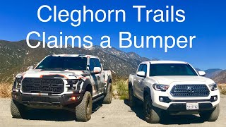 Ford Raptor And Tacoma Trd at Cleghorn Trail.