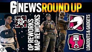 Reveal RoundUp Gridlock & Mozzie, Reworks - 6News - Tom Clancy's Rainbow Six Siege