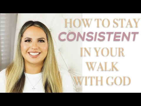 HOW TO STAY CONSISTENT WITH GOD #faith #consistency #JesusChrist