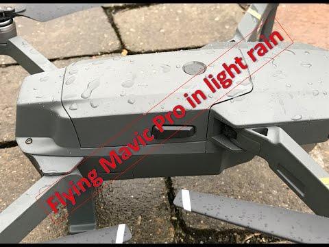 Mavic pro дождь видеокамера 4к обзор