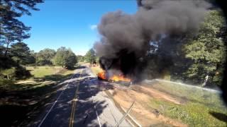 171 Fuel Truck Fire