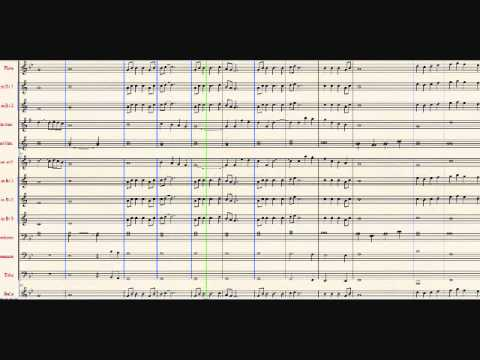 Canon In D Sheet Music (Marching Band)