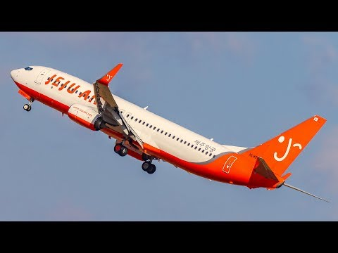 [4K] Jeju Air B737 Flight Review First Low Cost Airline in V