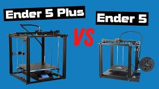 Best Creality 3D Printer? Creality Ender 5 vs Creality Ender 5 Plus