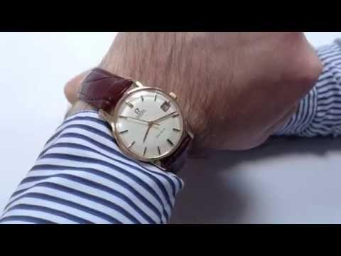OMEGA vintage wristwatch, Genève, hallmarked 1972