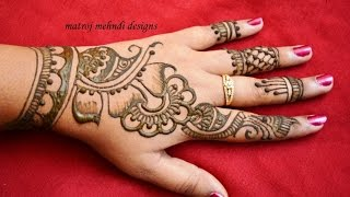 stylish simple mehndi henna designs for hands for beginners mehndi designs for hands