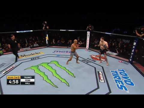 Ryan Hall vs BJ Penn   UFC 1 uzb ResPoblikon