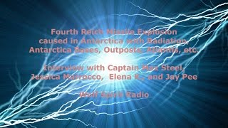 Radiation from Fourth Reich Missile in Antarctica, Bases, Outposts, Atlantis: Captain Max Steel Show
